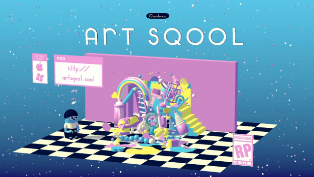 Art Sqool game trailer by Julien Glander | STASH MAGAZINE