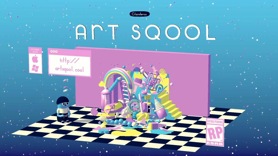 Art Sqool game trailer by Julien Glander | STASH MAGAZINE