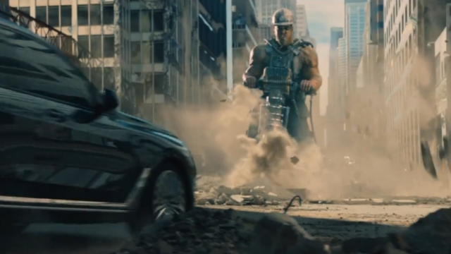Surviving Larger than Life VFX in BMW