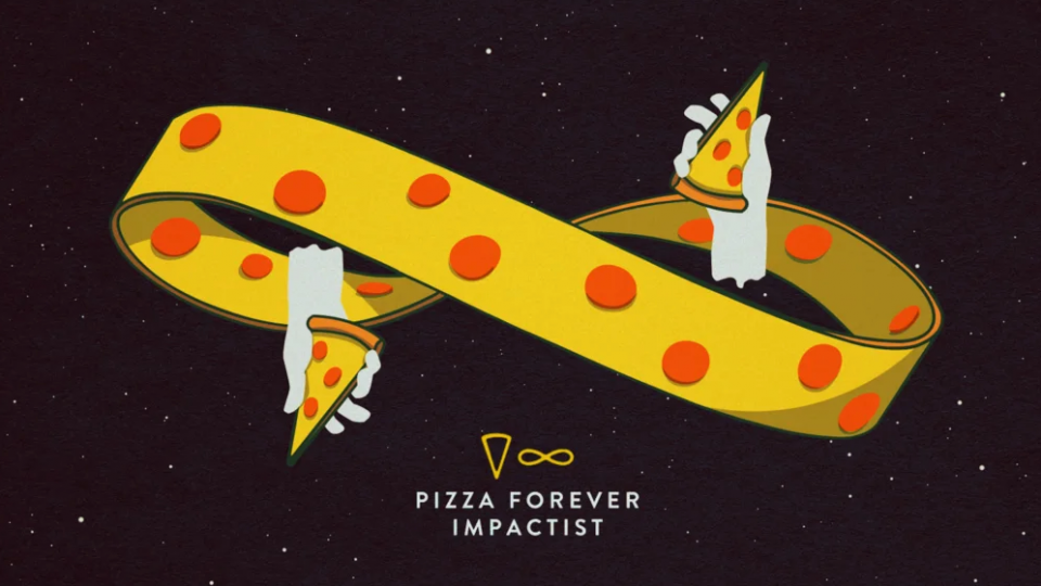 """Pizza Forever"" music video by Impactist 