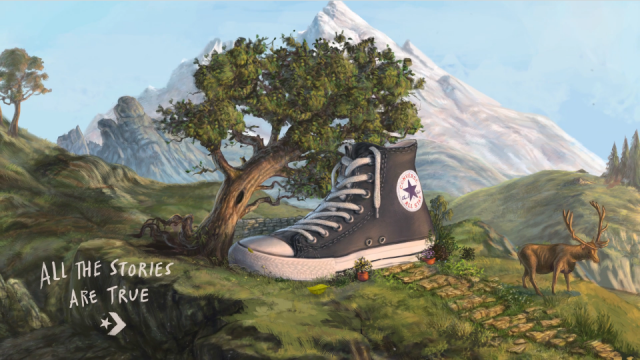 "Converse ""Nursery Rhymes"" by Psyop 
