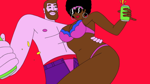 Skol Beats DRINK RIGHT F*** RIGHT animation | STASH MAGAZINE