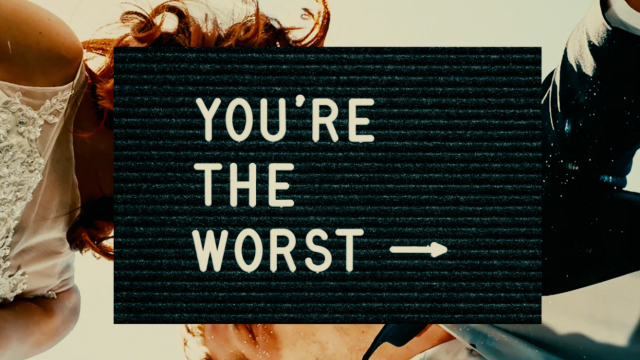FXX - You're the Worst Season 5 by Impactist | STASH MAGAZINE