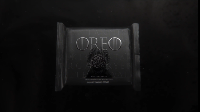 "Oreo ""Game of Thrones"" opening titles 