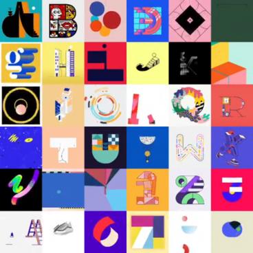 36 Days of Type by Albert Oriol | STASH MAGAZINE
