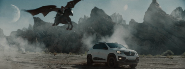 Renault Dragons Cave with VFX by Nash | STASH MAGAZINE