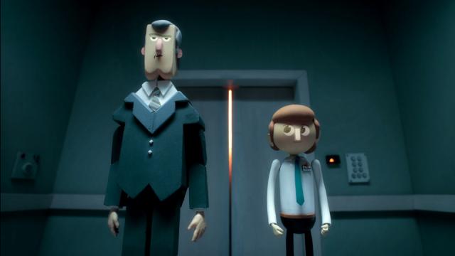 Alan the Infinite... animated short trailer by Parabella   STASH MAGAZINE