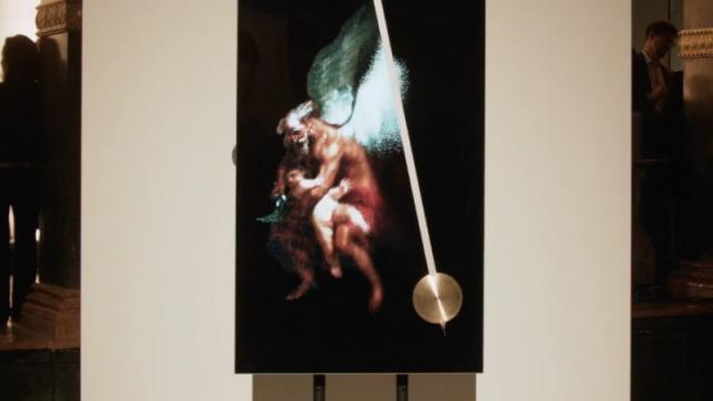 Chronos XXI kinetic sculpture by ART+COM   STASH MAGAZINE