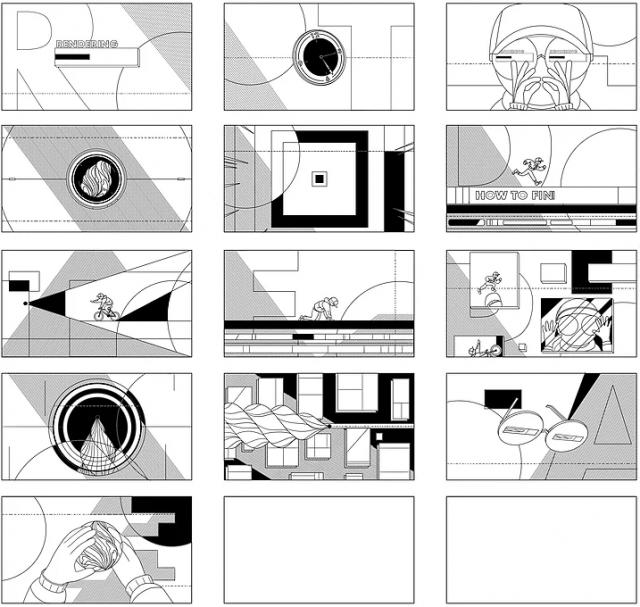 CTRL+S short motion graphics film Yunho Park | STASH MAGAZINE
