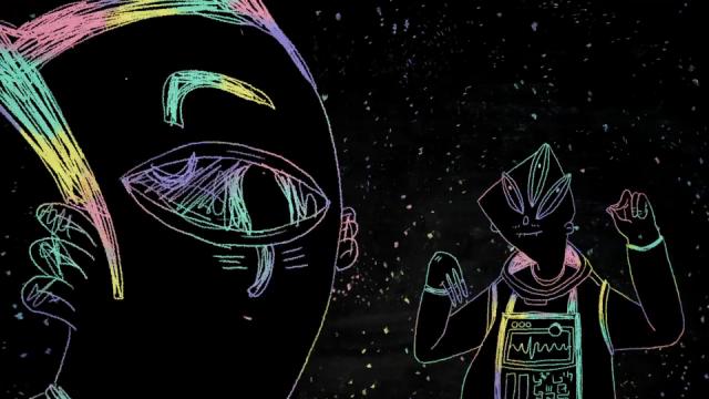 Michaela Tereshkova's extremely obscure Discovery short film by YK Animation   STASH MAGAZINE