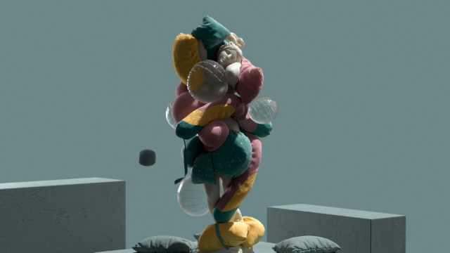 Emotional Art Gallery animated short film by Jesper Lindborg | STASH MAGAZINE