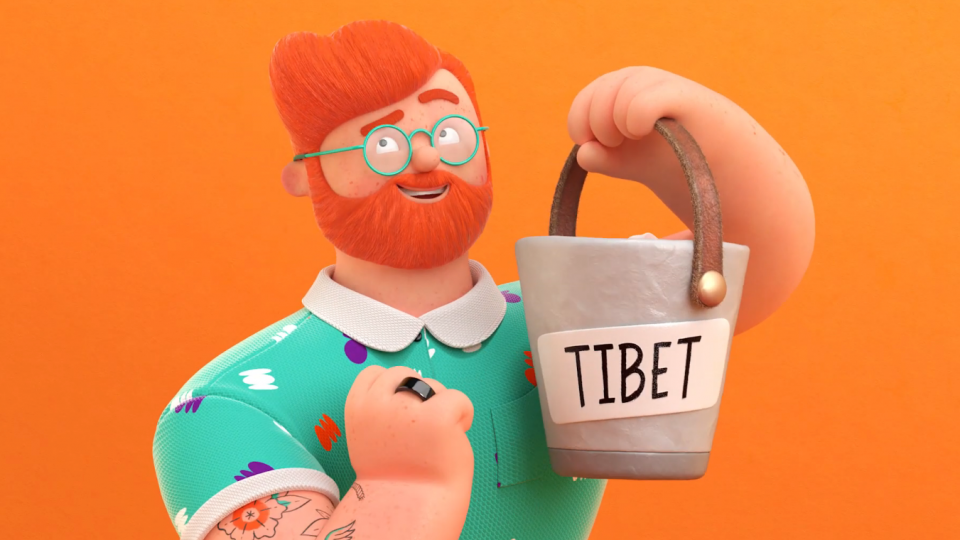 Bankwest Bryce Tibet animated commercial | STASH MAGAZINE