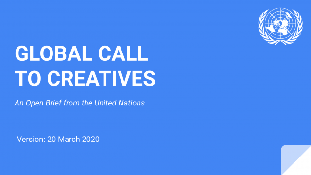 UN Global Call to Creatives | STASH MAGAZINE