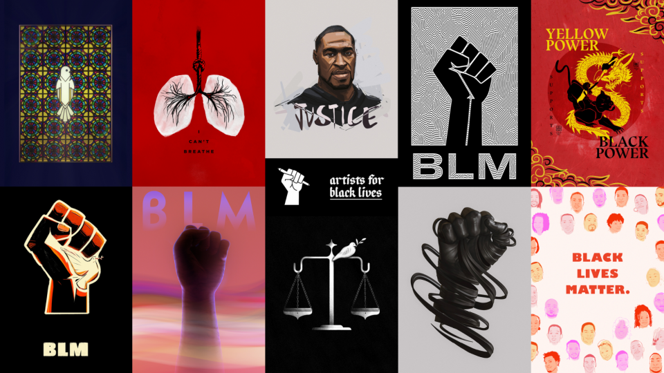 Artists For Black Lives Posters | STASH MAGAZINE