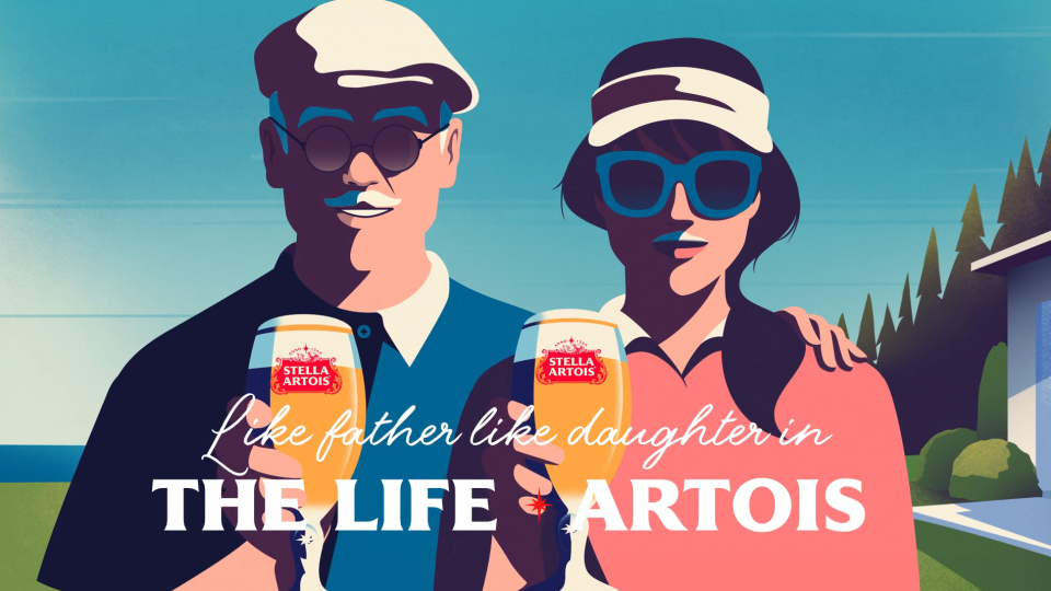 Stella Artois The Life Artois campaign by Dress Code | STASH MAGAZINE