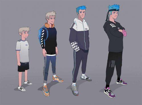 "Adidas x Ninja ""Chase the Spark"" by Laundry | STASH MAGAZINE"
