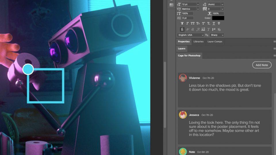Cage for Adobe Photoshop | STASH MAGAZINE