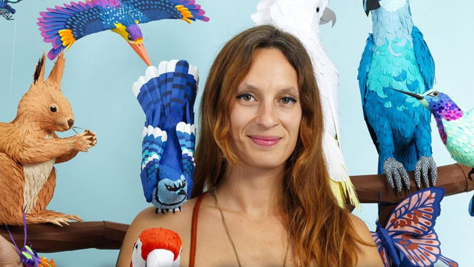 Director and Paper Artist Lila Poppins Joins Troublemakers | STASH MAGAZINE