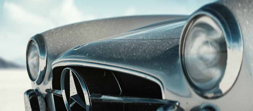 Mercedes-Benz 300SL Gullwing short film by João Elias   STASH MAGAZINE