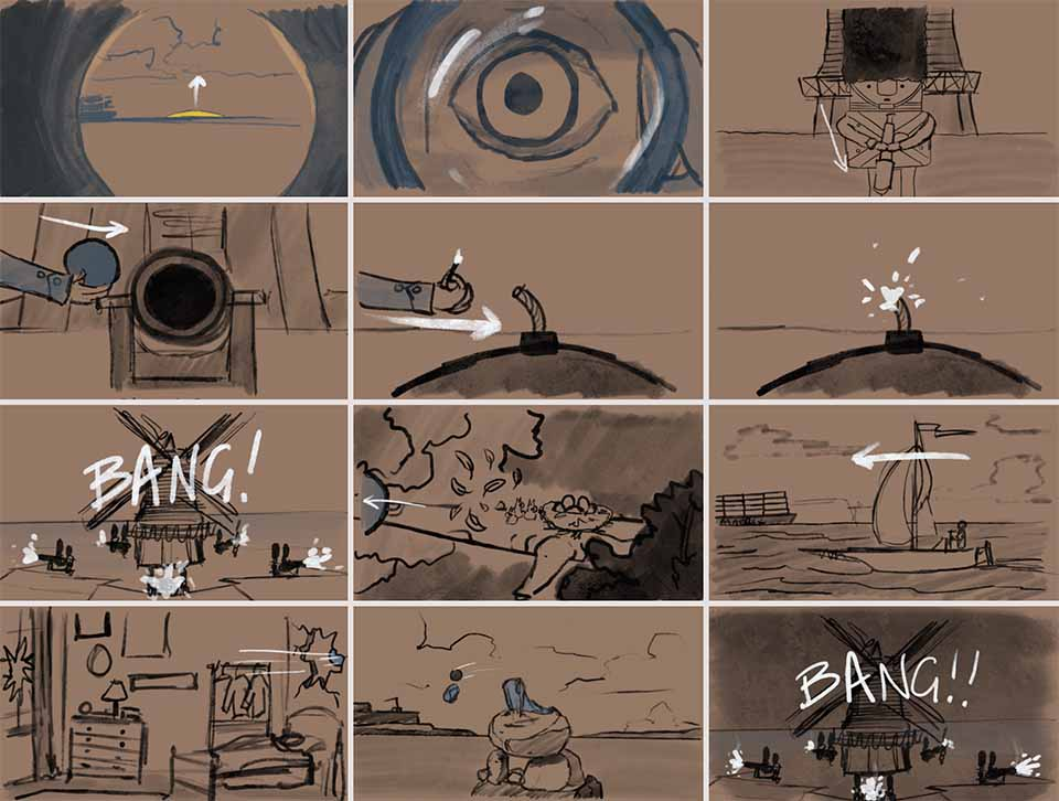 "Jake Wegesin Takes Aim with ""KANON"" Short Film"
