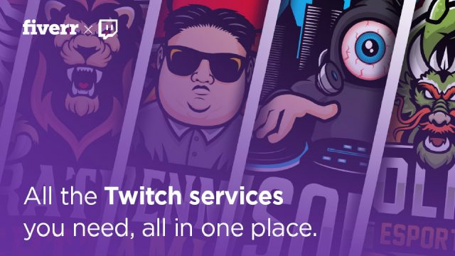 Find All the Twitch Services You Need at the Fiverr Twitch Store