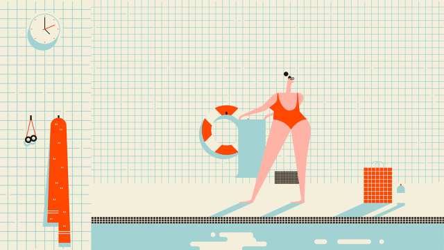 The DIver animated short by Batch | STASH MAGAZINE