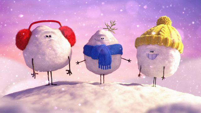 "Aardman Nathan Love ""Winter Refresh"" for Nickelodeon"