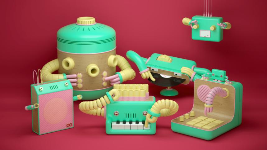 Robot and the Robots   STASH MAGAZINE