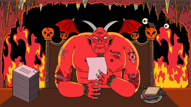 Ben White_Dear Satan   STASH MAGAZINE