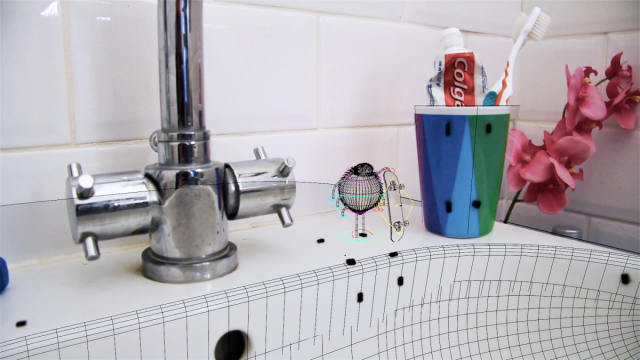 Skateboarding Spider_Bathroom Boarder | STASH MAGAZINE