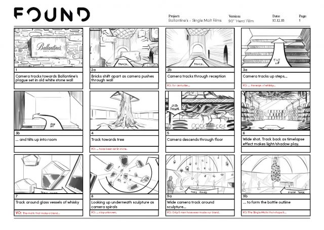 Ballantine's Too Good To Hide by Found Studio   STASH MAGAZINE