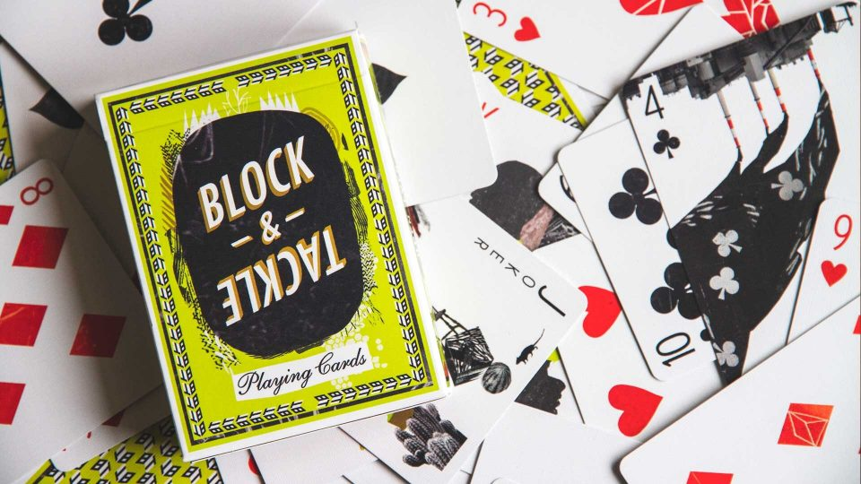 "BLOCK & TACKLE's ""Open Eyes"" Card Deck 