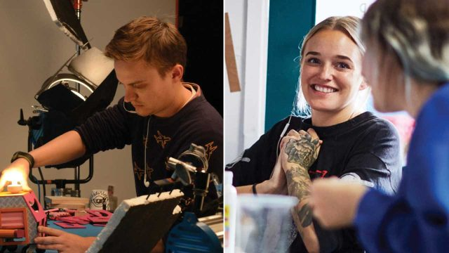 Blinkink Signs Stop Motion Duo Andy & Adeena