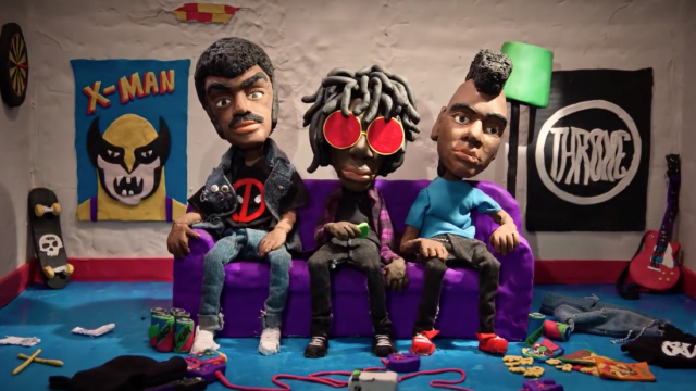 Garage-punk Meets Claymation: Radkey