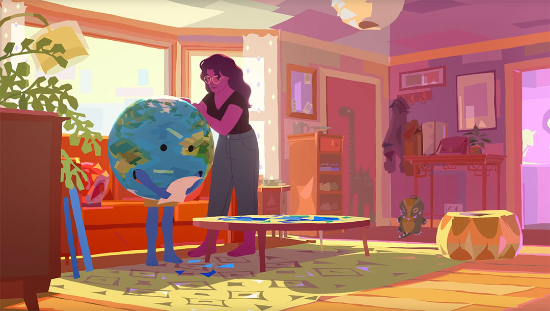 Blue Curry GOBELINS short film   STASH MAGAZINE