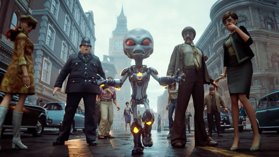 Destroy All Humans 2 Reprobed Trailer Puppetworks | STASH MAGAZINE