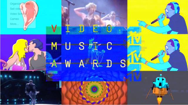 Blasting Open the MTV Video Music Awards 2015