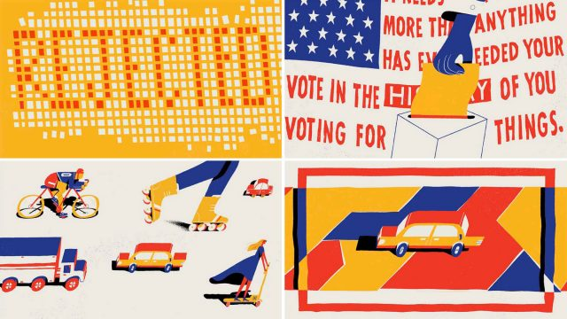 Away Travel the Vote by Natalie Labarre and Hornet | STASH MAGAZINE