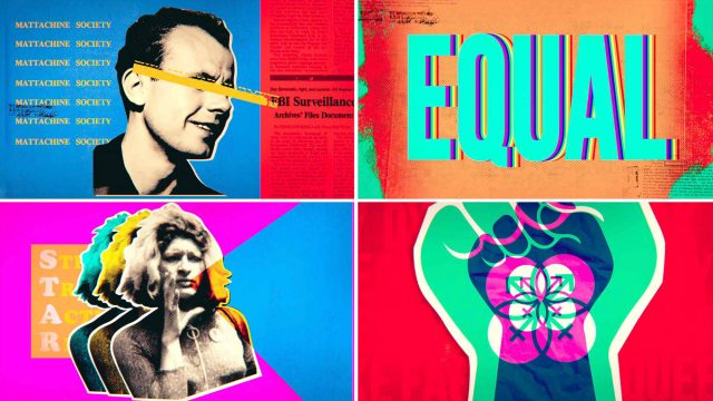 HBO Equal titles by Blue Spill | STASH MAGAZINE