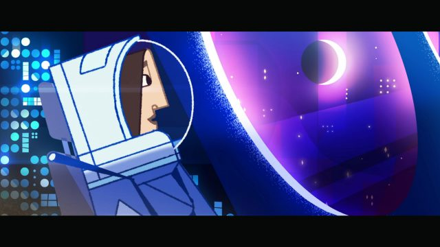"""""""The Moon's Not That Great"""" Short Film by Mathieu Libman 