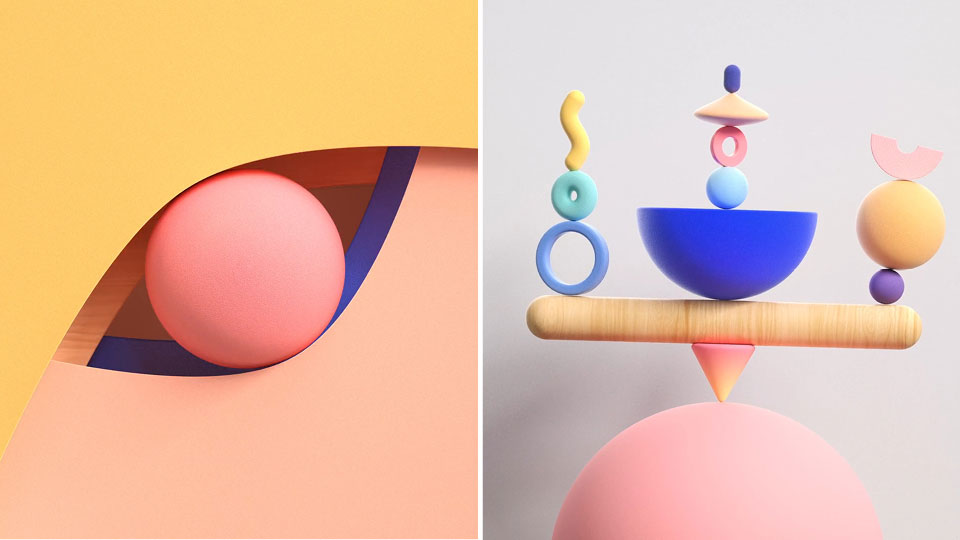 """Between Two & Three"" by Mestremotion and Hitabarity 3D 