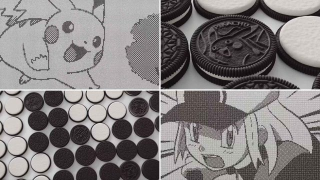 Pokémon x OREO Limited Edition Cookies by Framestore