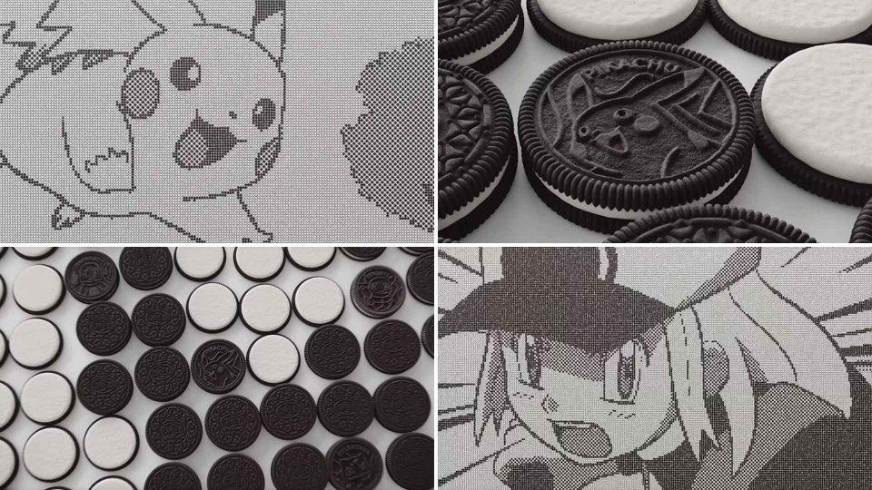 Pokemon x OREO Limited Edition Cookies by Framestore | STASH MAGAZINE