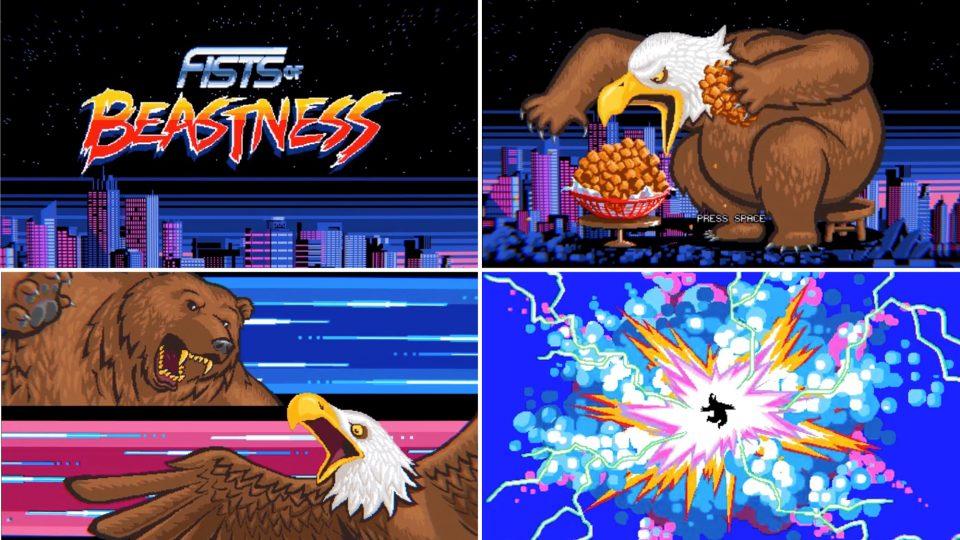 Fists of Beastness Game trailer | STASH MAGAZINE