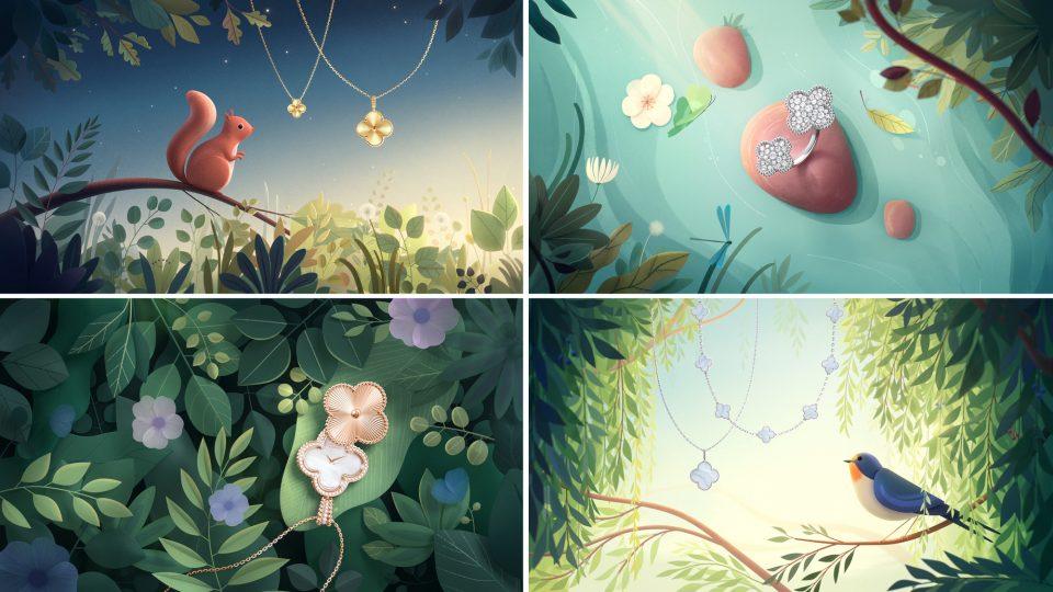 Van Cleef & Arpels - Alhambra Autumn commercial | STASH MAGAZINE