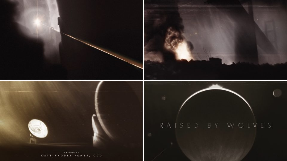 Raised by Wolves opening titles by Studio AKA | STASH MAGAZINE