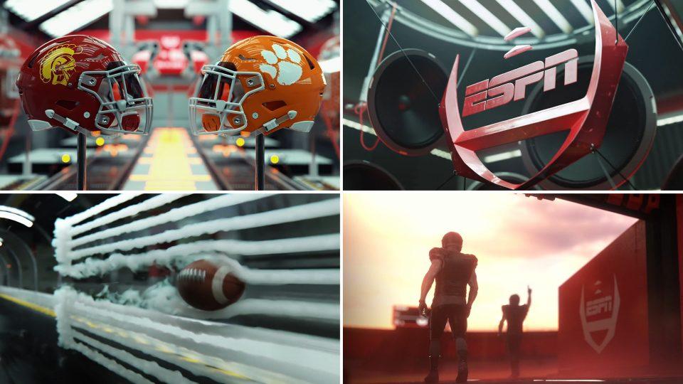 ESPN College Football promo by Elastic | STASH MAGAZINE