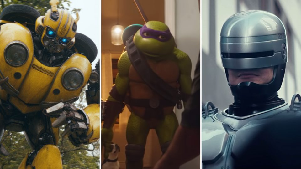 Direct Line RoboCop Donatello Bumble Bee | STASH MAGAZINE