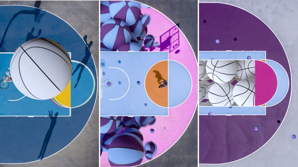Courts animated loop by Barry Chapman | STASH MAGAZINE