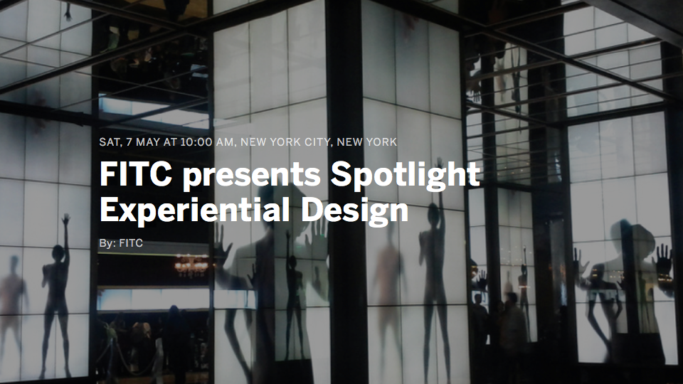 FITC Spotlight Experiential Design | STASH MAGAZINE